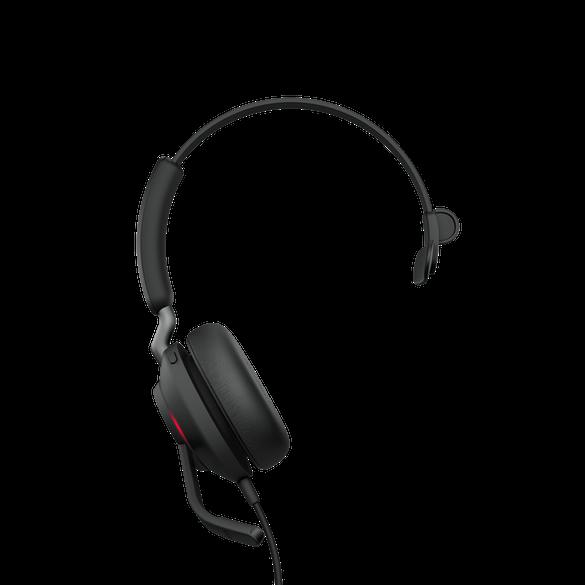 Jabra Evolve2 40 MS Mono USB-C Headset schwarz
