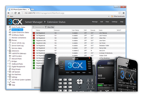 3CX Phone System Enterp 1024 SC