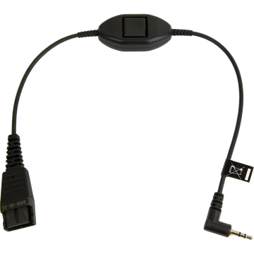 Jabra QD auf 2,5mm Adapterkabel