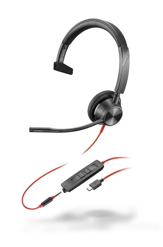 Plantronics Blackwire C3315-M USB-C Headset