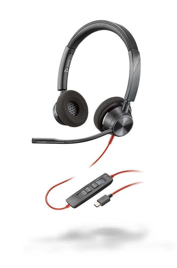 Plantronics Blackwire C3320 USB-C Headset