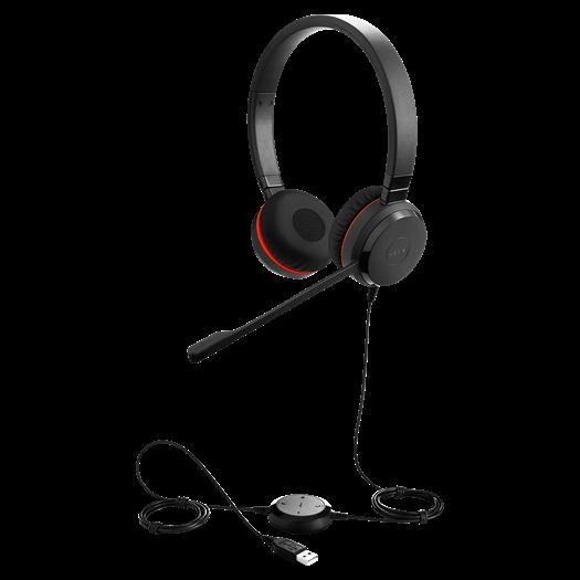 Jabra Evolve 20 SE UC Duo Headset