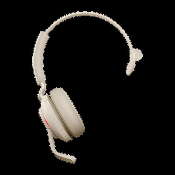 *Jabra Evolve2 65 MS Mono BT USB-C Headset beige