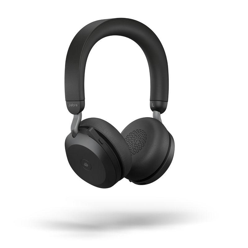 Jabra Evolve2 75 MS Stereo BT USB-A Headset schwarz