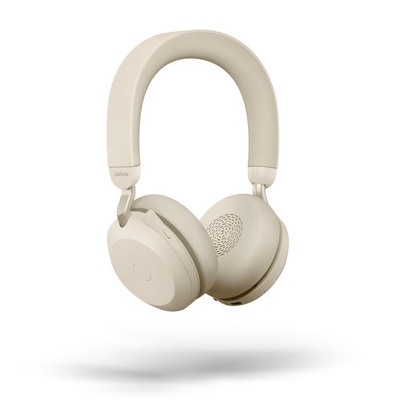 Jabra Evolve2 75 UC Stereo BT USB-A Headset beige