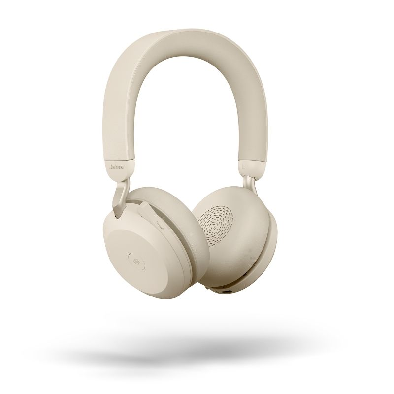 Jabra Evolve2 75 MS Stereo BT USB-A Headset beige
