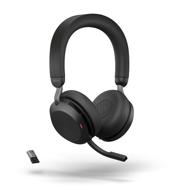 Jabra Evolve2 75 UC Stereo BT USB-A Headset schwarz