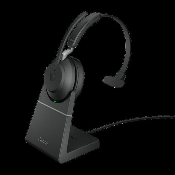 Jabra Evolve2 65 UC Mono BT USB-C Headset inkl. Ladestation schwarz
