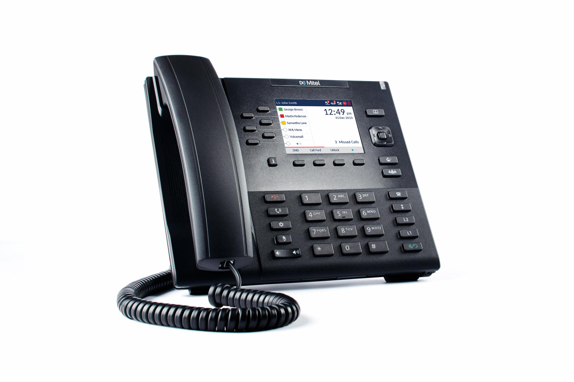 Mitel 6867i VoIP SIP Tischtelefon ohne Netzteil