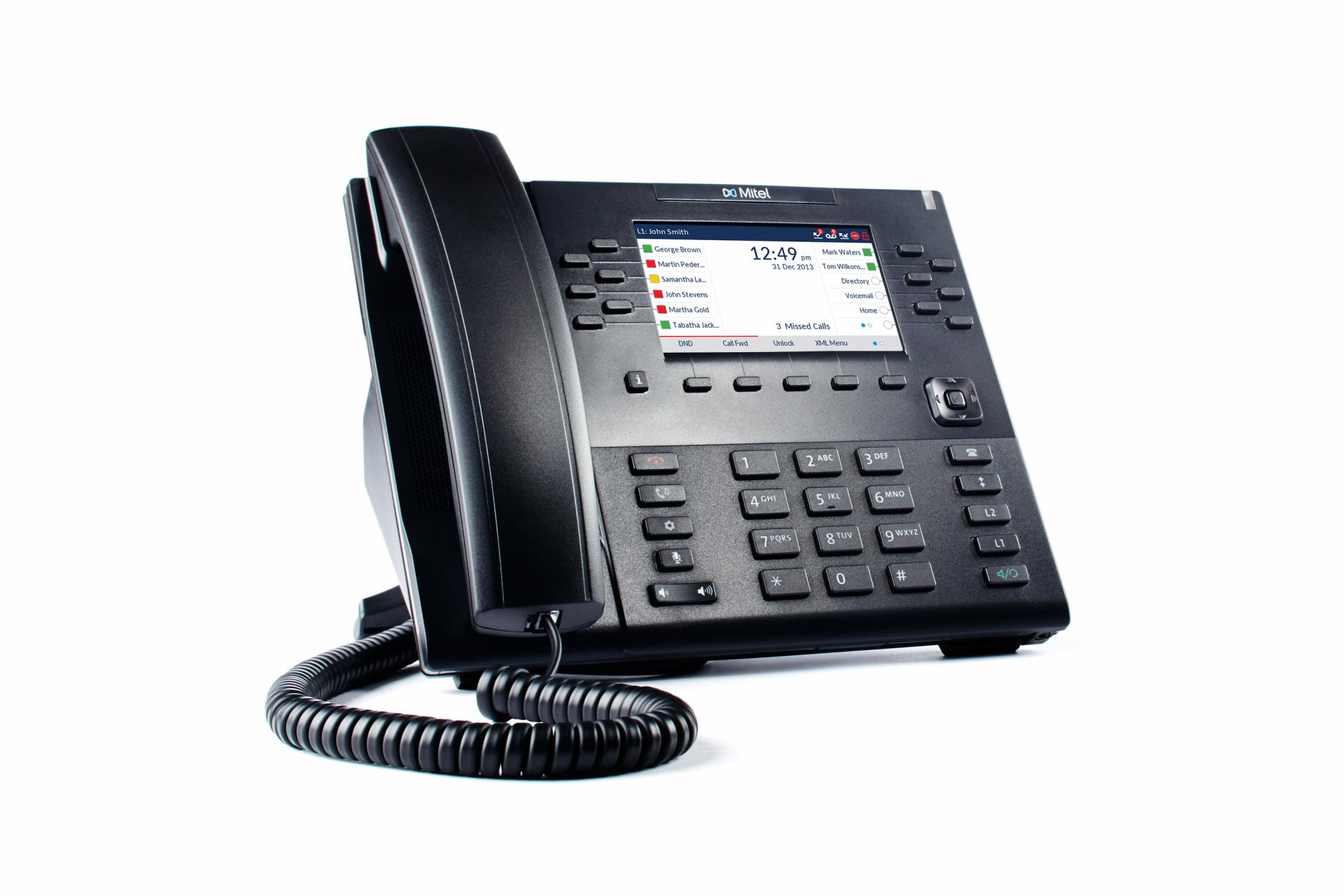 Mitel 6869i VoIP SIP Tischtelefon ohne Netzteil