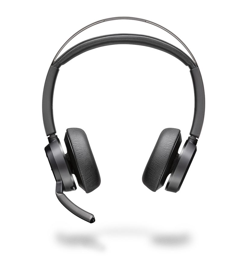 Poly Voyager Focus 2 UC USB-A Headset ohne Ladestation