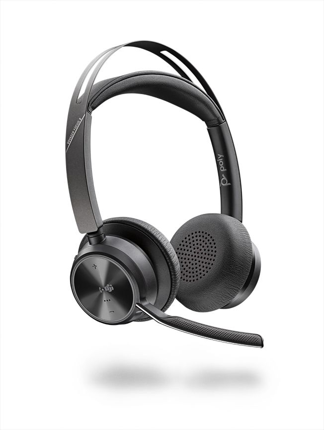 Poly Voyager Focus 2 UC-M USB-A Headset ohne Ladestation