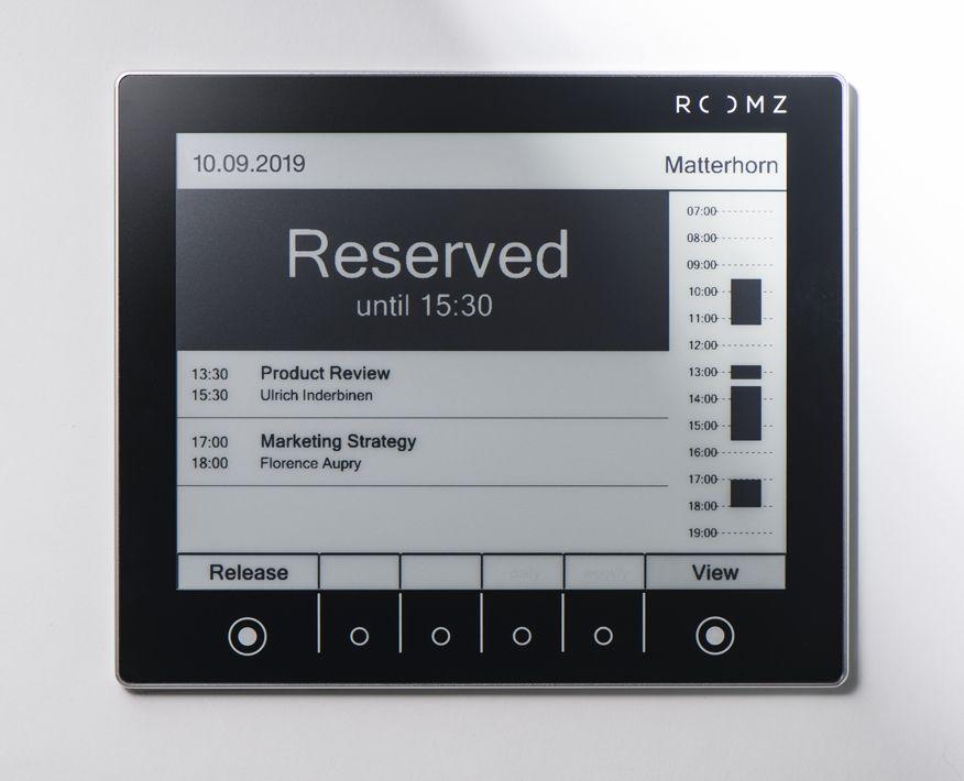 ROOMZ Display SILVER inkl subscription 1 Jahr ROOM