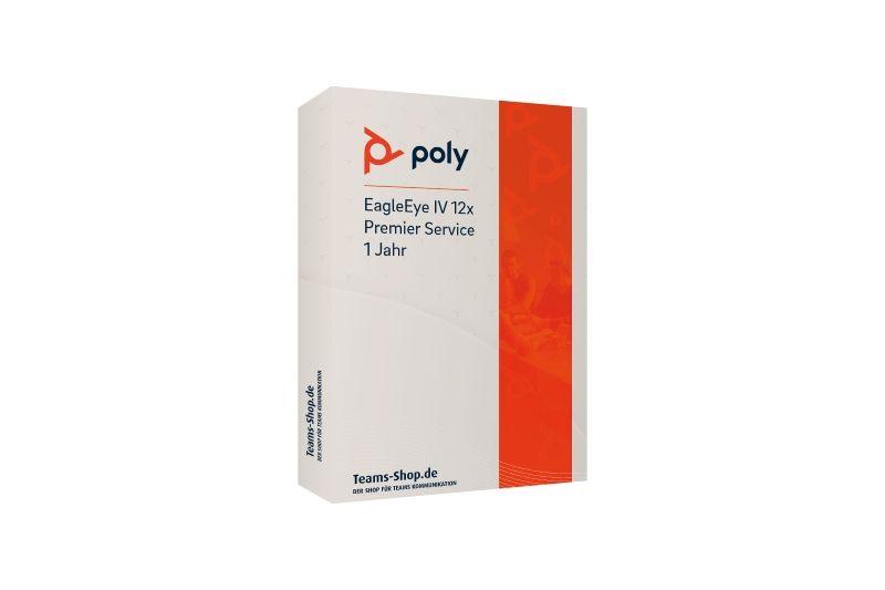 Poly EagleEye IV USB-Kamera Premier Service 1 Jahr