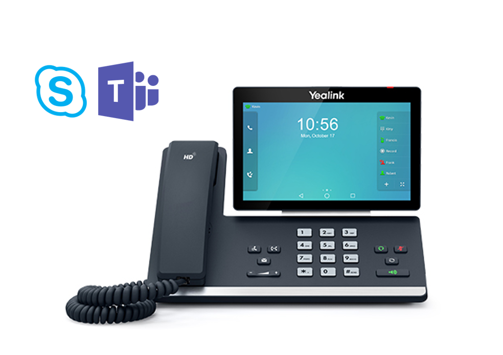 Yealink T58A Video SIP Skype for Business Telefon