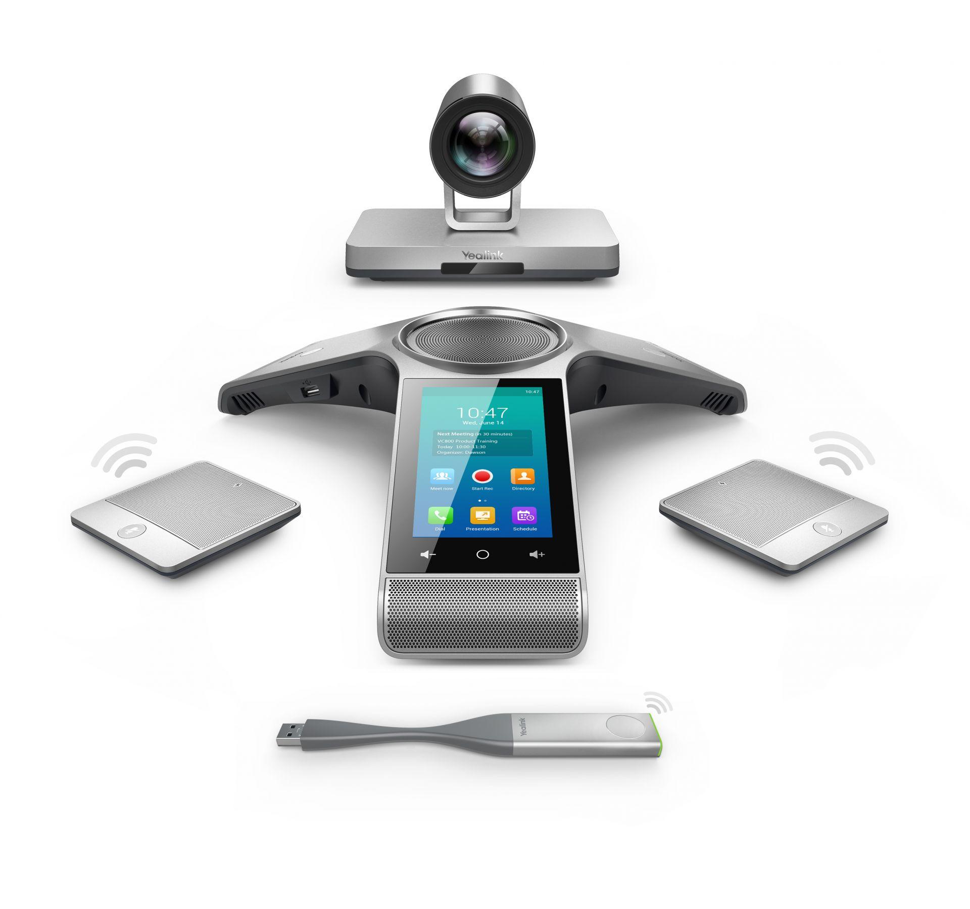 Yealink VC800 Video Konferenzsystem wireless + WPP