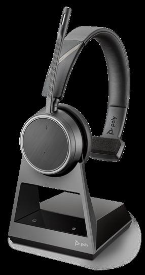 *Plantronics Voyager 4210 UC USB-A Headset inkl. Ladestation