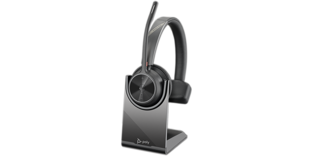 Poly Voyager 4310 UC-M BT USB-A Headset inkl. Ladestation
