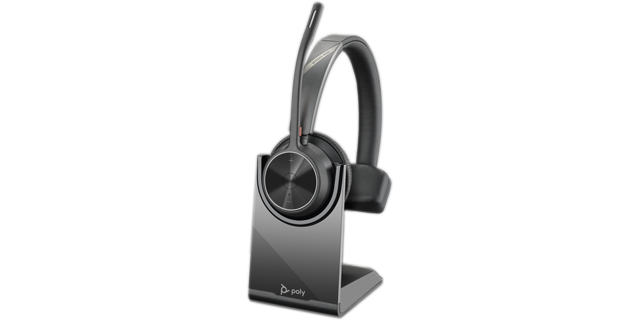 Poly Voyager 4310 UC BT USB-A Headset inkl. Ladestation