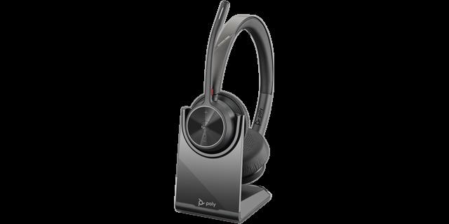 Poly Voyager 4320 UC-M BT USB-C Headset inkl. Ladestation