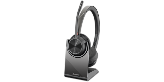 Poly Voyager 4320 UC BT USB-A Headset inkl. Ladestation