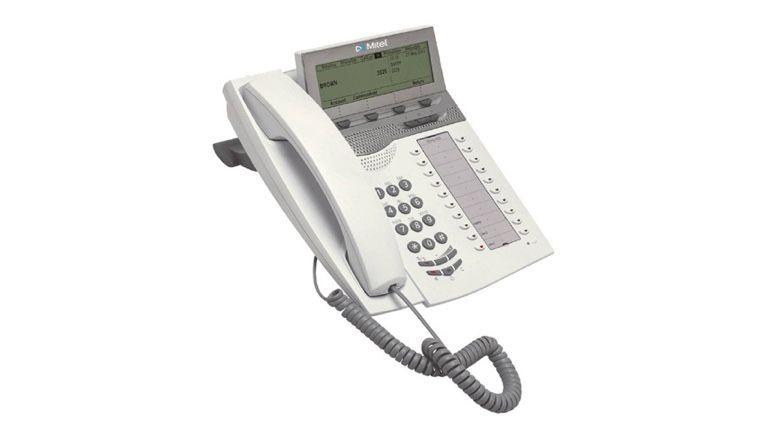 Mitel DBC 4225 Vision V2 hellgrau Tischtelefon