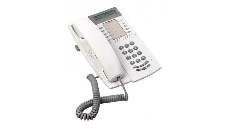 Mitel DBC 4222 Office Tischtelefon hellgrau ref