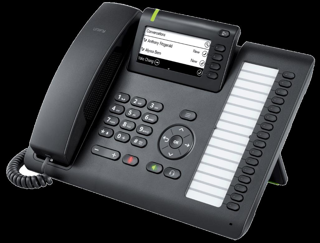 Unify OpenScape CP400 Tischtelefon