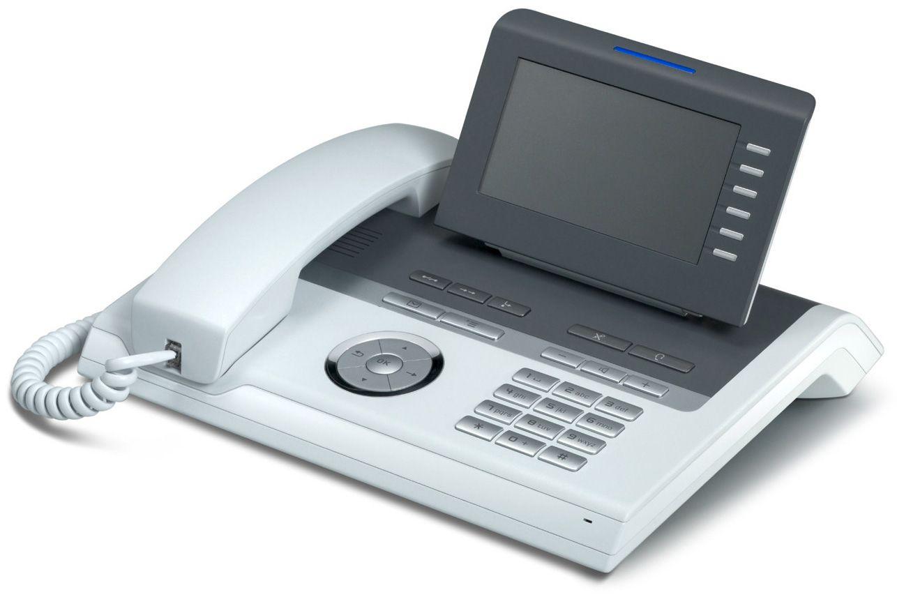 Unify OpenStage 40 HFA V3 eisblau Tischtelefon REF