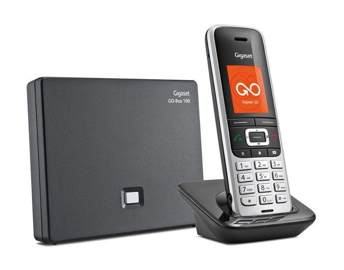 Gigaset S850A Go schwarz IP DECT Mobilteil