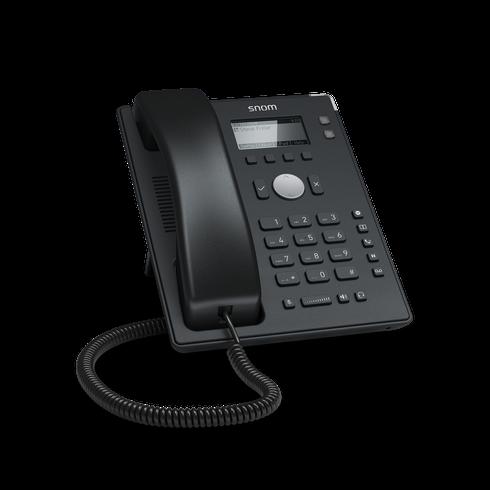 Snom D120 SIP schwarz Tischtelefon
