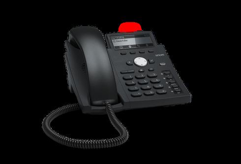 Snom D315 SIP schwarz Tischtelefon