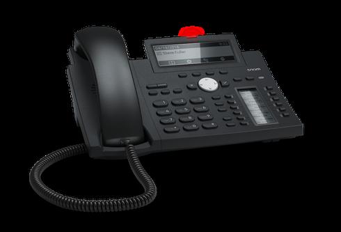 Snom D345 SIP schwarz Tischtelefon