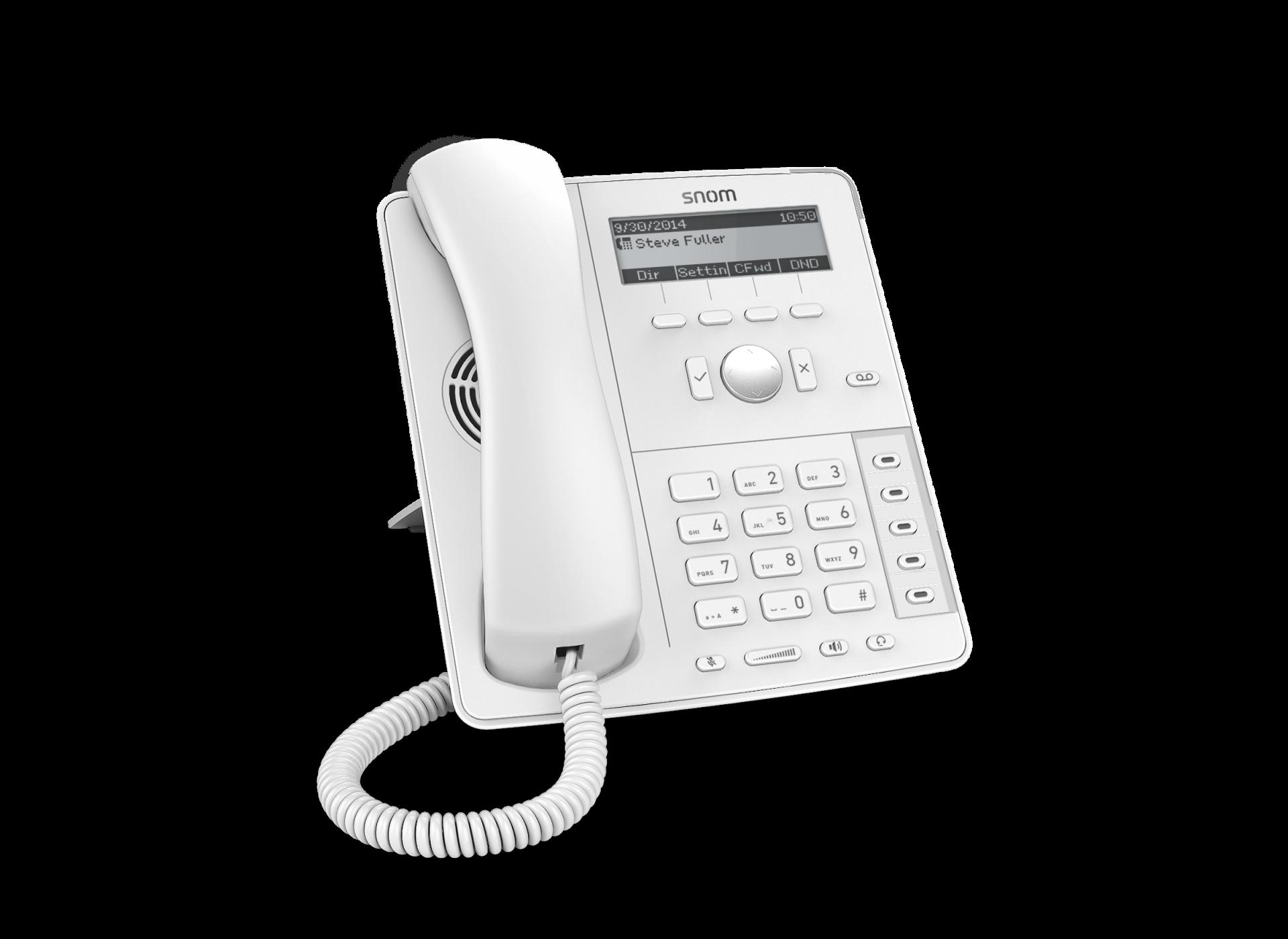 Snom D715 SIP weiß Tischtelefon