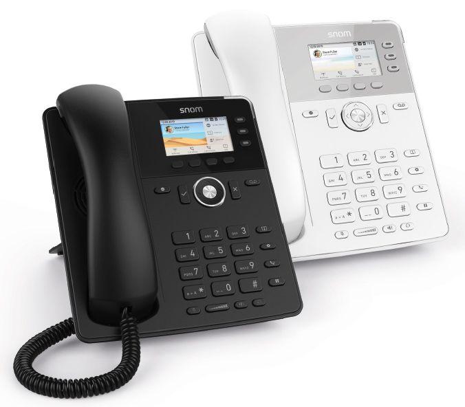 Snom D717 SIP weiß Tischtelefon