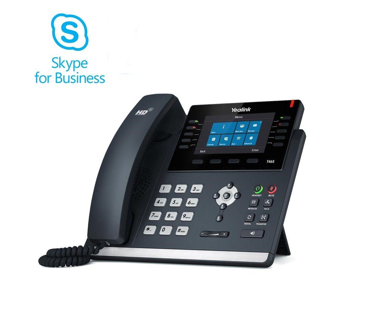 Yealink T46S SIP Skype for Business Telefon