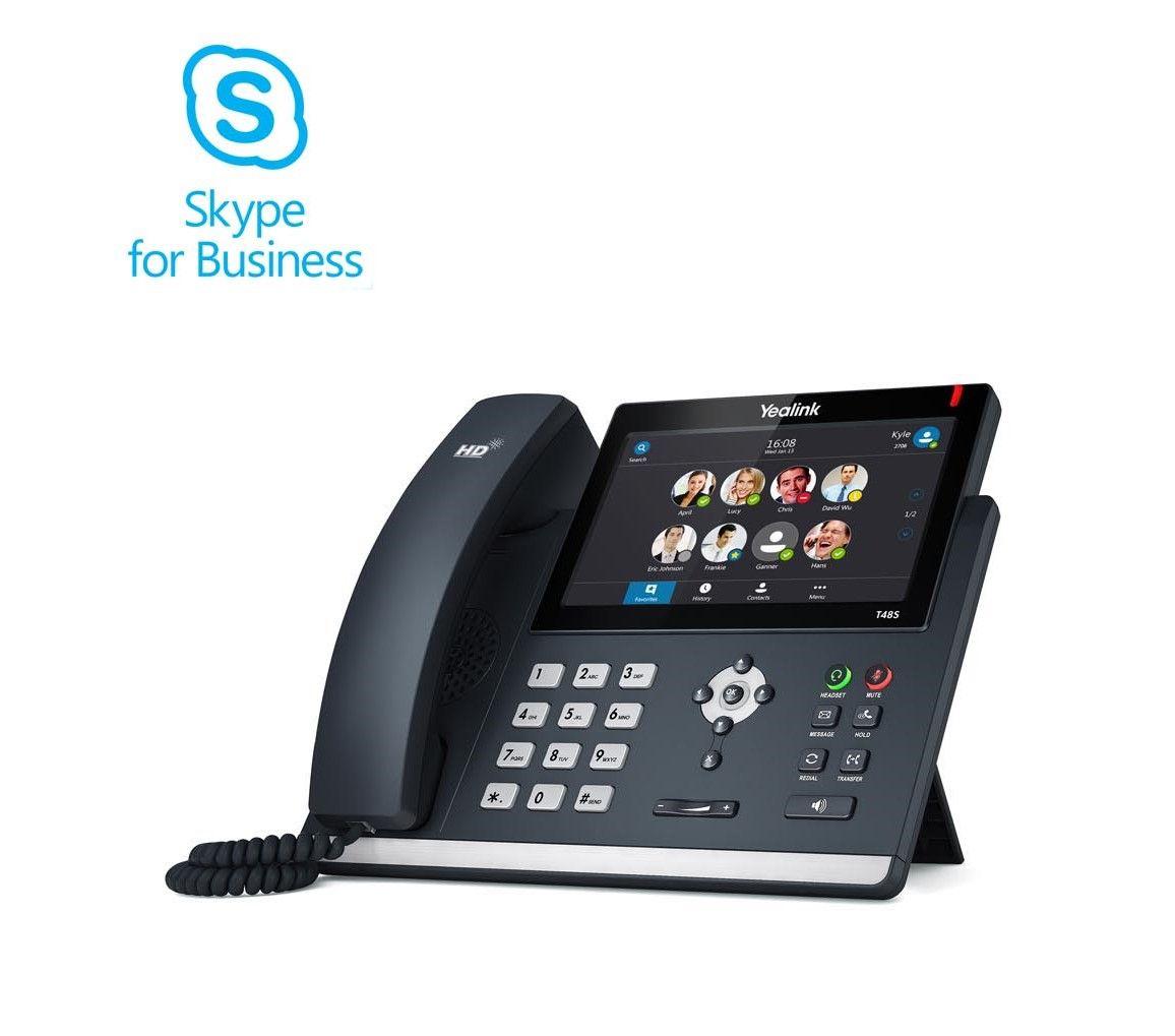 Yealink T48S SIP Skype for Business Telefon