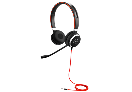 Jabra Evolve 40 UC Duo - nur Headset