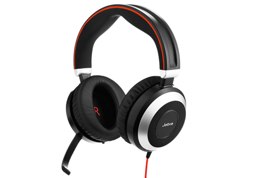 Jabra Evolve 80 UC DUO - nur Headset