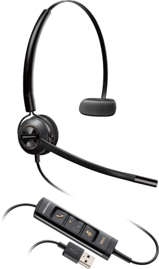 Plantronics EncorePro HW545 USB Headset