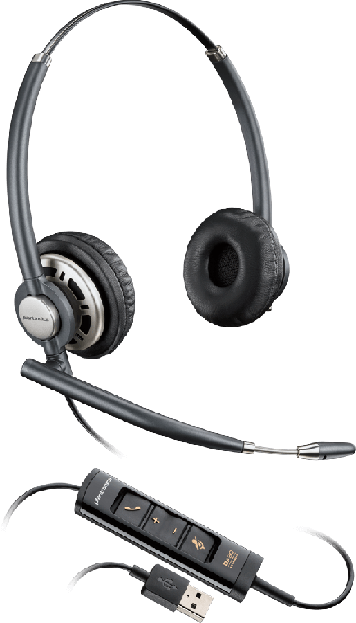 Plantronics EncorePro HW725 USB Headset