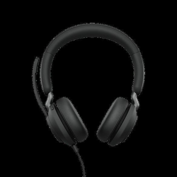 Jabra Evolve2 40 UC Stereo USB-C Headset schwarz