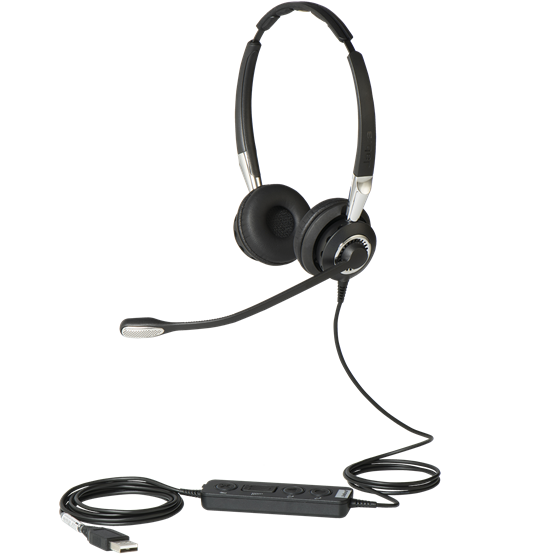 *Jabra BIZ 2400 II Duo USB MS Headset