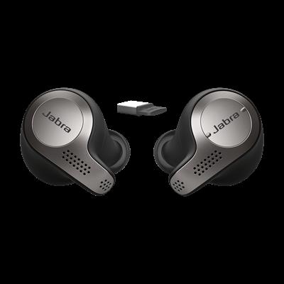 Jabra Evolve 65t UC Titanium Black Headset