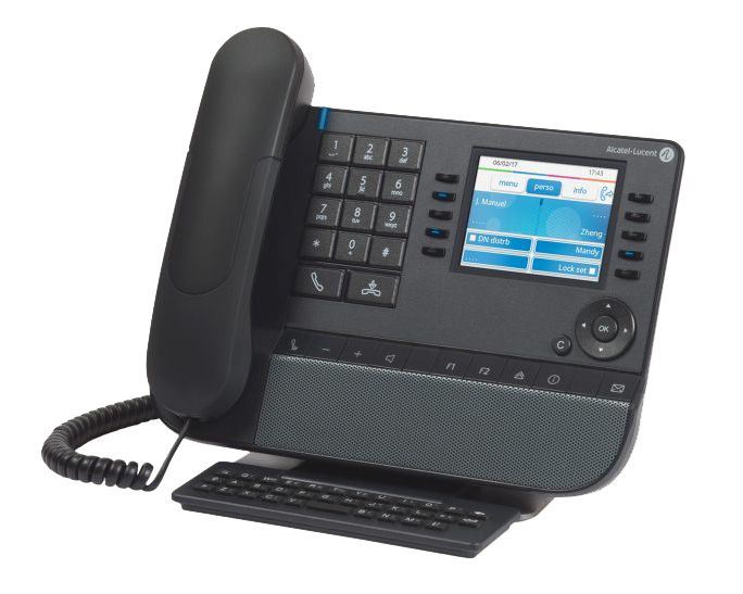 Alcatel-Lucent 8058s IP Premium Tischtelefon