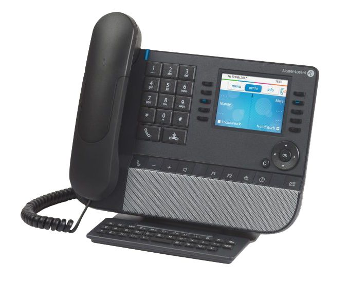 Alcatel-Lucent 8068s IP Premium Tischtelefon