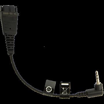 Jabra QD auf 2,5mm Klinke Anschlusskabel