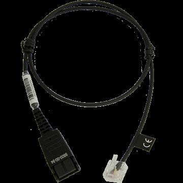 Jabra QD auf RJ45, glatt, OpenStage Adapterkabel