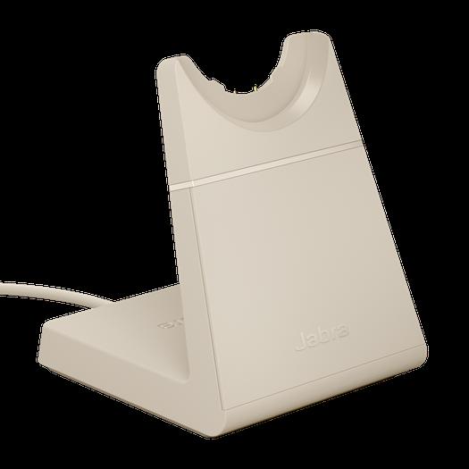 Jabra Evolve2 65 Ladestation USB-C beige