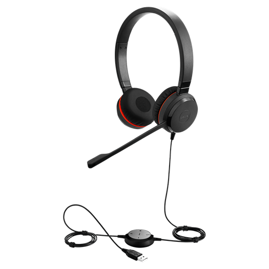 Jabra Evolve 20 SE MS Duo Headset